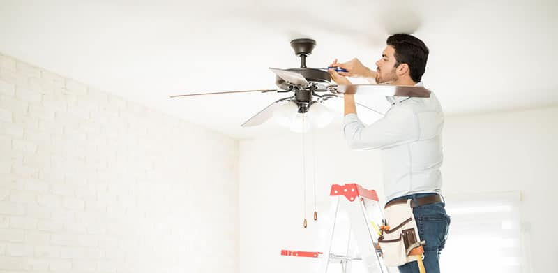 Ceiling Fan Installation Or Replacement Service In Omaha Nebraska